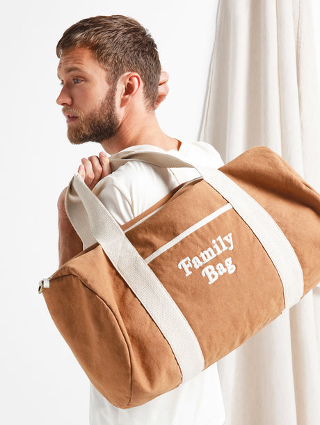 Le sac bowling brodé Family bag
