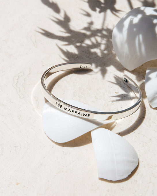 "Le jonc argent ""Fée Marraine"" – Bangle Up x émoi émoi"
