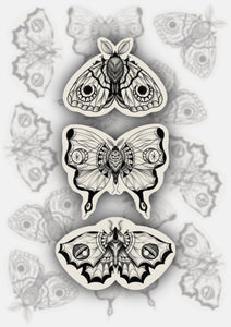 Mini Moth Stickers