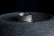 Load image into Gallery viewer, Brushed Silver Cuff Ring