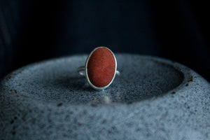 Goldstone Ring