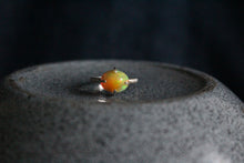 Load image into Gallery viewer, Pinfire Prong Set Opal Ring