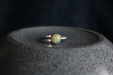 Load image into Gallery viewer, Round Ethiopian Opal Ring