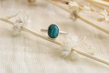 Load image into Gallery viewer, Teal Agate Ring