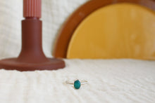 Load image into Gallery viewer, Small Teal Agate Ring