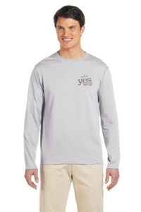 Mens Crew Neck Long Sleeve T-shirt