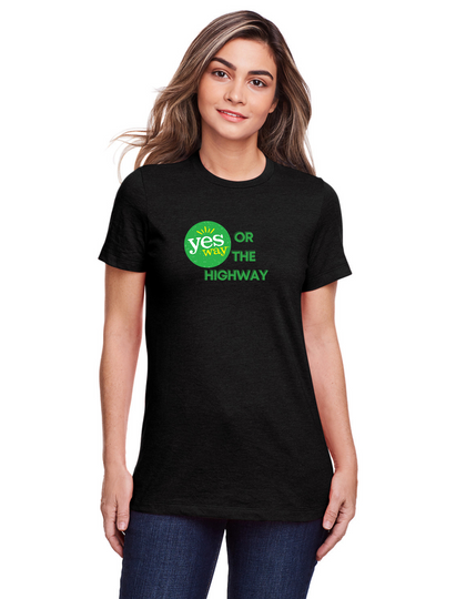 Ladies Yesway T-shirt - Yesway or the Highway