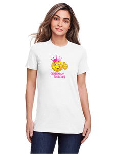Ladies Yesway T-shirt - Queen of Snacks