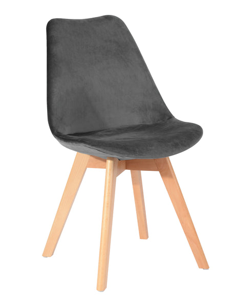 CHAISE Scandinave velour