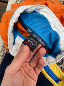 Paul & Shark (M) Orange Watershed Quarter Zip