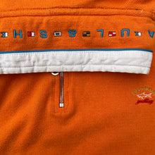 Load image into Gallery viewer, Paul & Shark (M) Orange Watershed Quarter Zip