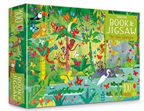 Usborne Book and Jigsaw - In The Jungle