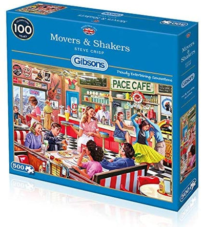 Movers & Shakers 500 Piece Jigsaw