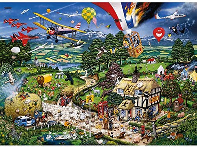 I Love The Country 1000 Piece Jigsaw