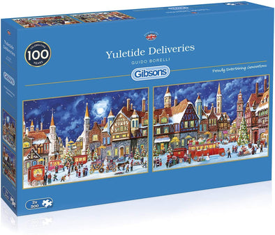 Yuletide Deliveries 2 x 500 piece jigsaws