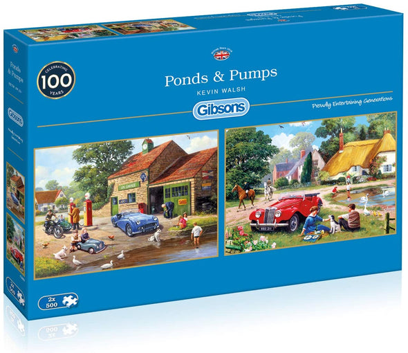 Ponds & Pumps 2 x 500 piece jigsaws
