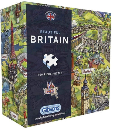 Beautiful Britain Gift Box 500 piece jigsaw