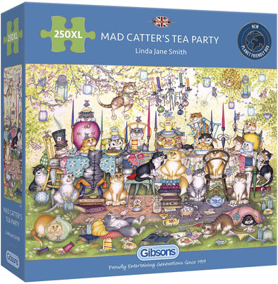 Mad Catter's Tea Party 250XL Piece Jigsaw