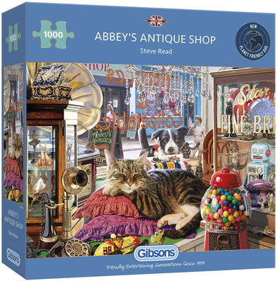 Abbey's Antique Shop 1000 Piece Jigsaw