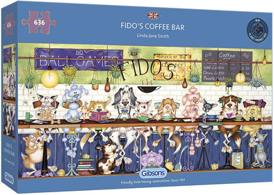 Fido's Coffee Bar 636 Piece Jigsaw