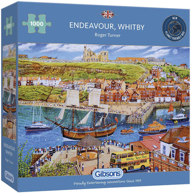 1000 Piece Endeavour, Whitby jigsaw
