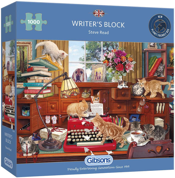 Writers Block 1000 Piece Jigsaw