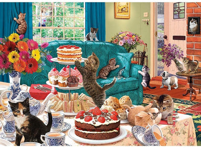 Feline Frenzy 1000 Piece Jigsaw