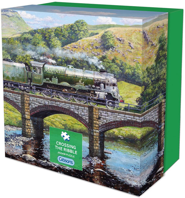 Crossing The Ribble 500 piece gift jigsaw