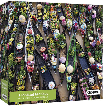 Floating Market 500 Piece Jigsaw