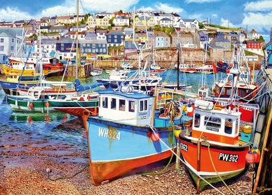 Mevagissey Harbour 1000 piece jigsaw