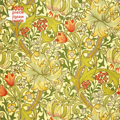 Adult Jigsaw Puzzle William Morris Gallery: Golden Lily: 1000-piece