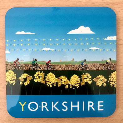 Yorkshire Cyclists - Coaster