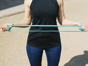Resistant bands exercises for beginners