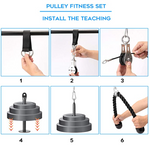 Portable Home Pulley Cable Machine