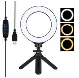 Ring 6.2Inch Dimmable Selfie Lamp with Tripod