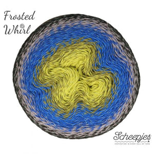 Scheepjes Frosted Whirl Yarn Crochet Singapore Sg Woopi Wool & Yarn Sale Free Shipping Craft Hobbies Accessories