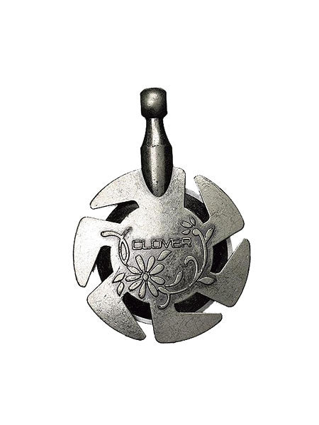 Clover Yarn Cutter with Antique Silver Pendant Crochet Singapore Sg Spotlight