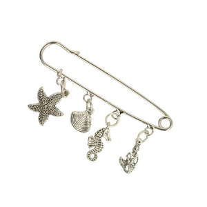 Kilt Pins with Sea Charms