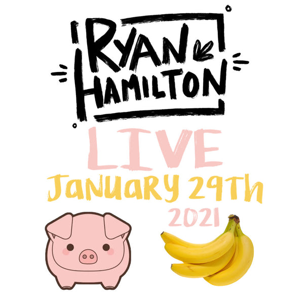 LIVE ALBUM - StageIt - January 29th, 2021 (digital download)
