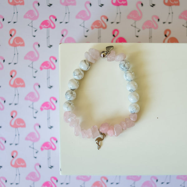 Bracelet FLAMANT ROSE