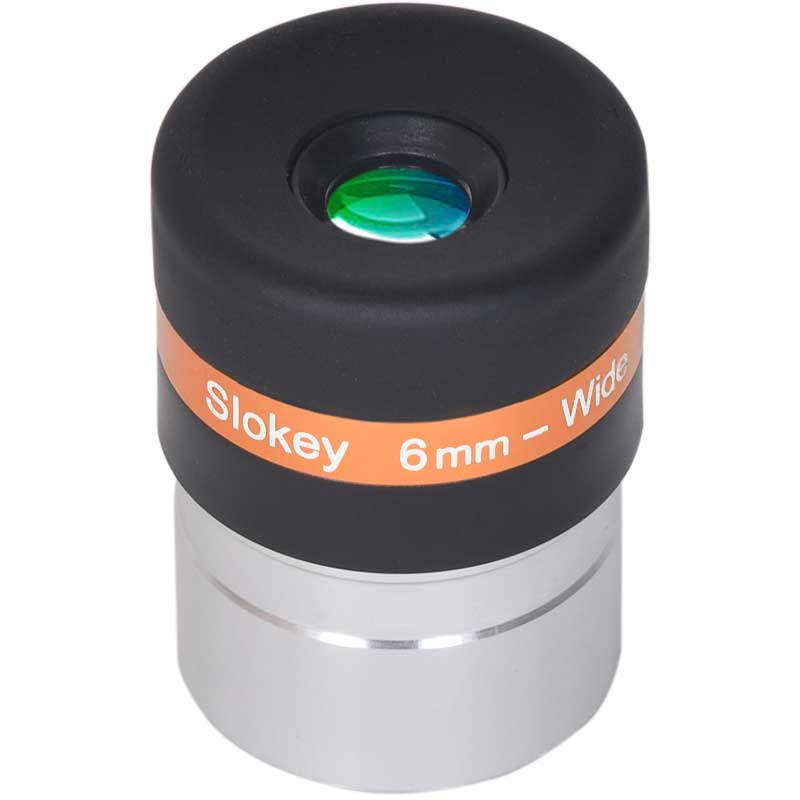 "6 mm Pro Eyepiece Telescope  - Exceptional Optical Quality (1.25"") - Slokey"