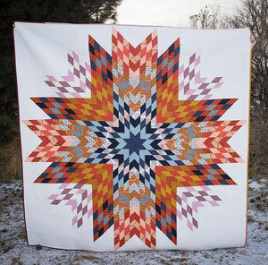 Big Sky Star Quilt Pattern | Plains and Pine