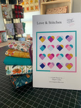 Load image into Gallery viewer, Five Fat Quarter & Yardage Quilt Kit with Love & Stitches Pattern | Dashwood Studio