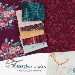 Stay Humble Foresta | Art Gallery Fabrics