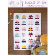 Load image into Gallery viewer, Bundles Of Joy PAPER Quilt Pattern by Quilters Candy