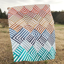 Load image into Gallery viewer, Interwoven Quilt PAPER Pattern by Lo & Behold Stitchery