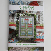 Load image into Gallery viewer, Mr. McGregor's Garden PAPER Quilt Pattern by Cakestand Quilts