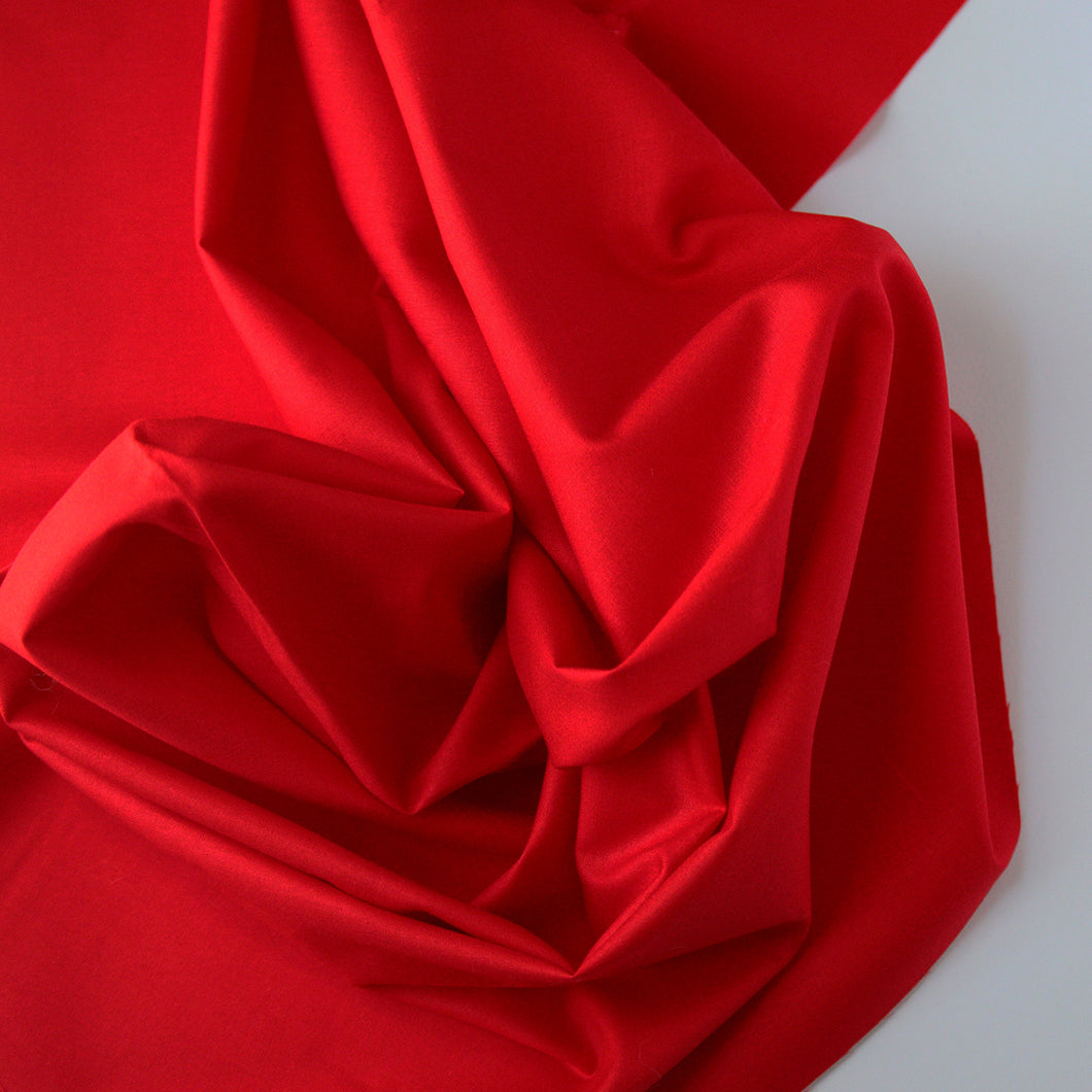 Solid Color | Michael Miller | Cotton Couture - Cherry