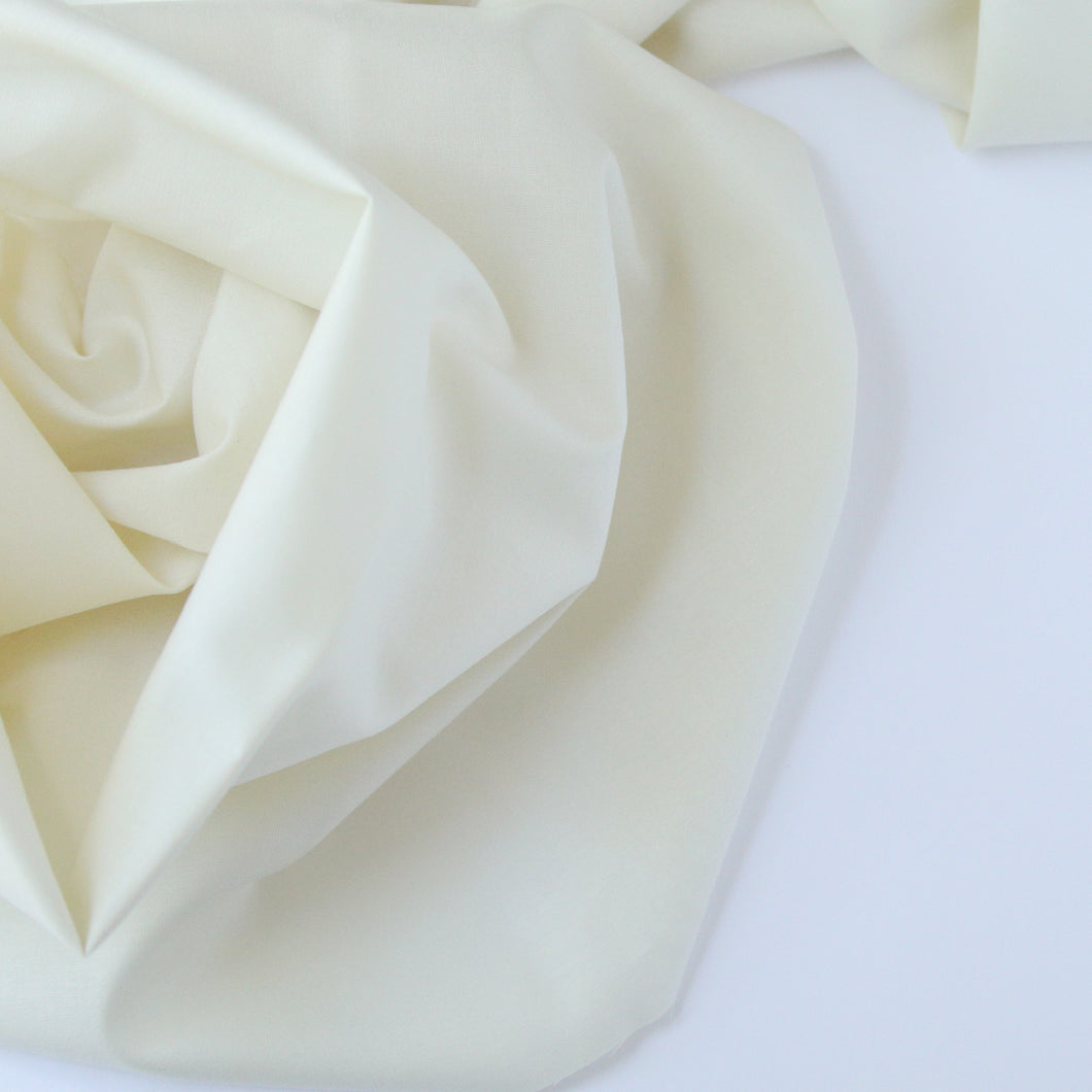 Solid Color | Michael Miller | Cotton Couture - Cream
