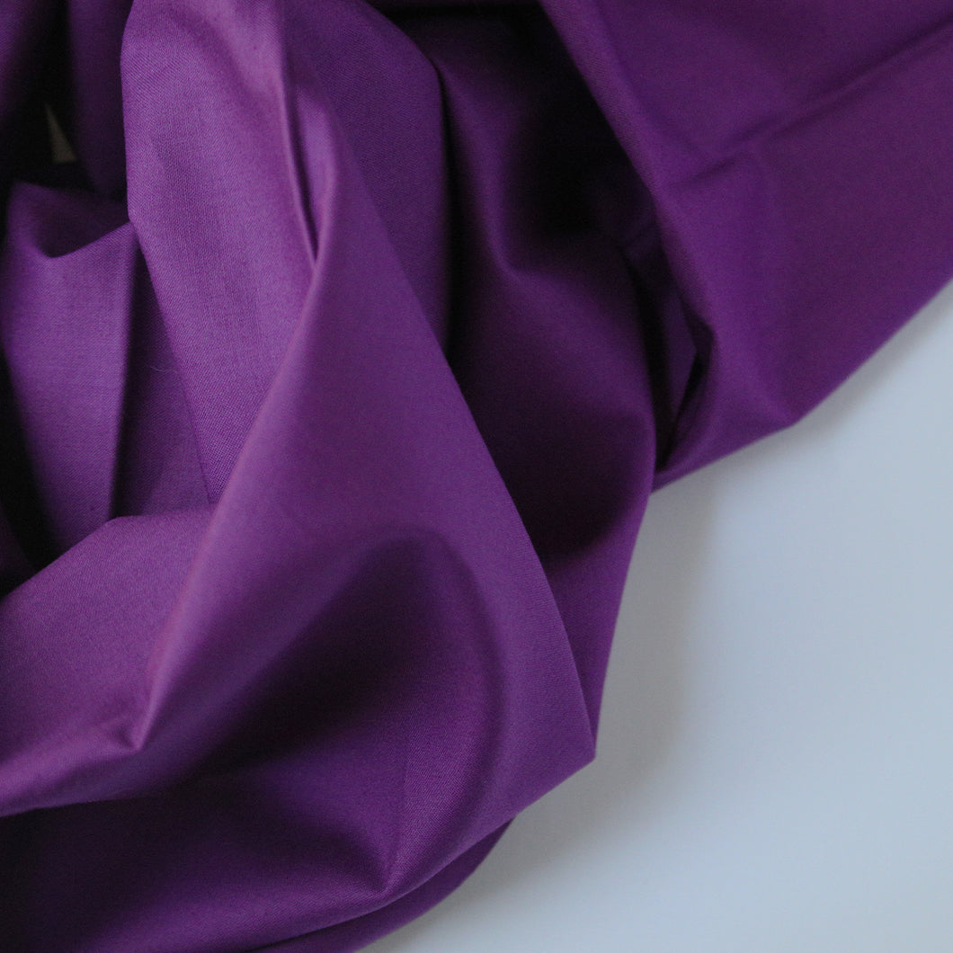 Solid Color | Michael Miller | Cotton Couture - Violet